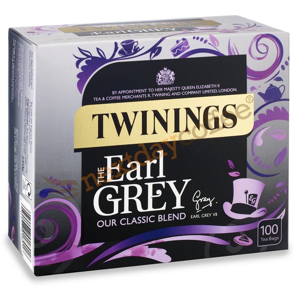 Twinings Earl Grey String & Tag Tea (100 bags)