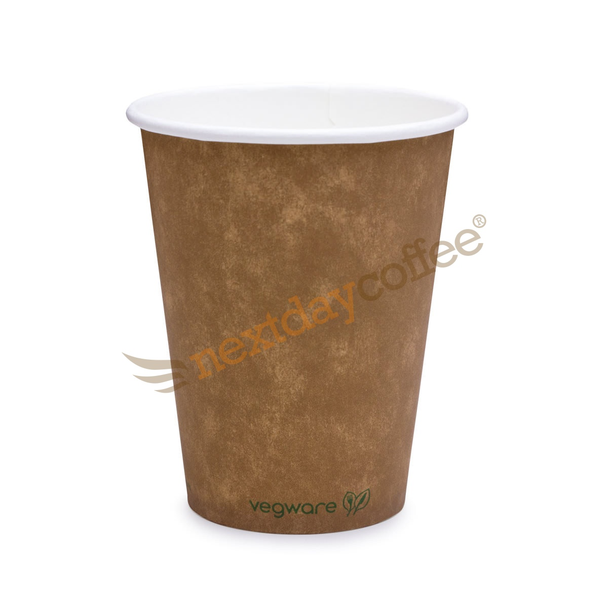 12oz Single Wall Compostable Vegware Kraft Cup (1000)