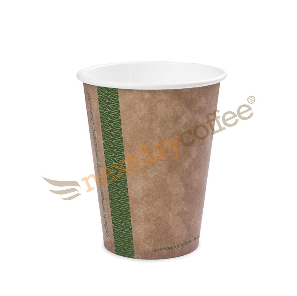 8oz Single Wall Compostable Vegware Kraft Cup (100)