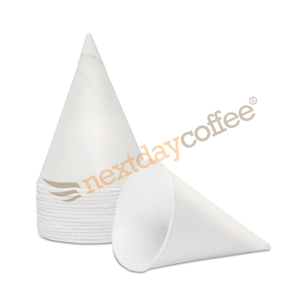 4oz Paper Water Cone Cups (200)