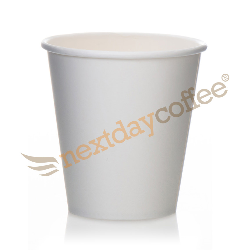 10oz Single Wall White Paper Cups (100)