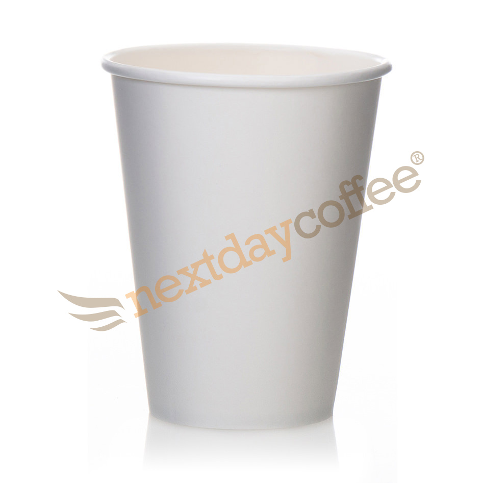 12oz Single Wall White Paper Cups (1000)