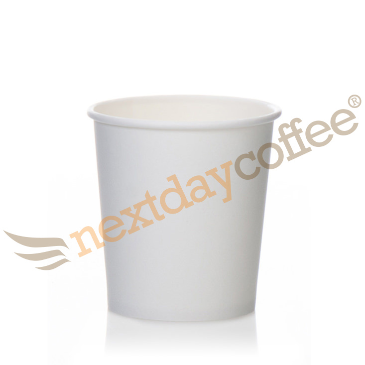 4oz Single Wall White Paper Cups (1000)