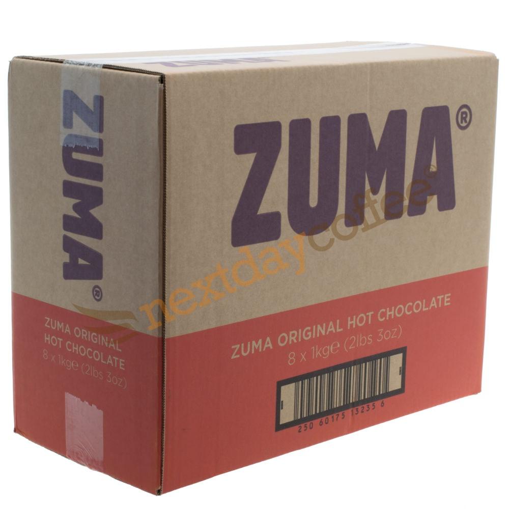 Zuma Original Hot Chocolate Powder (8 x 1kg)