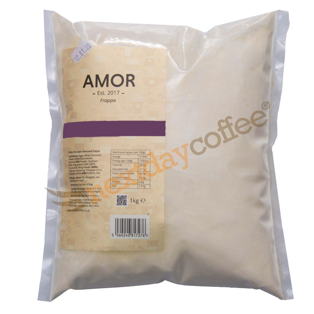 Amor Cookie & Cream Frappe Mix (1kg)
