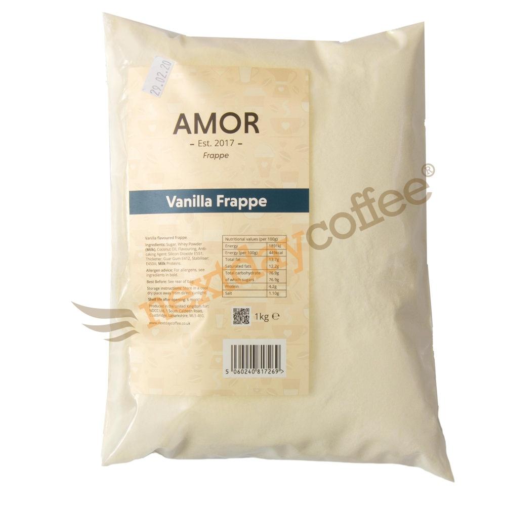 Amor Vanilla Frappe Mix (1kg)