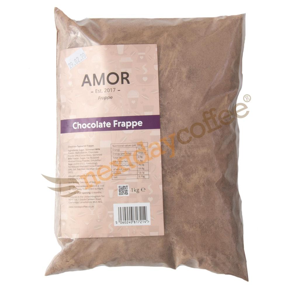 Amor Chocolate Frappe Mix (1kg)