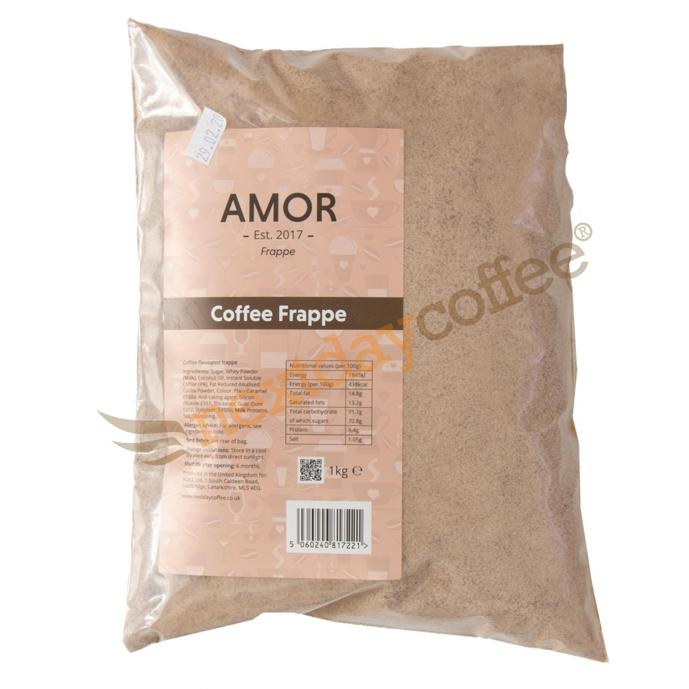 Amor Coffee Frappe Mix (1kg)