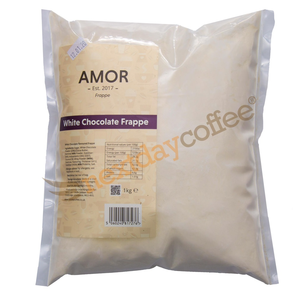 Amor White Chocolate Frappe Mix (1kg)