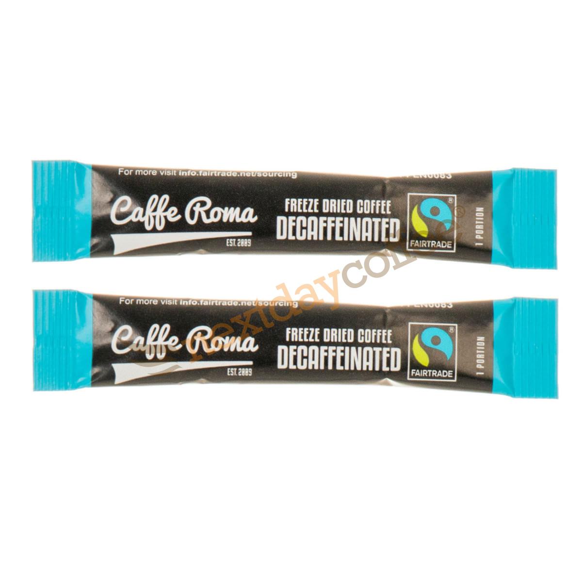 Fairtrade Instant Coffee Sticks - Decaffeinated (250)