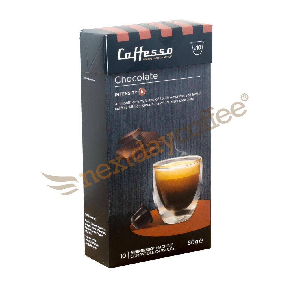 Caffesso Chocolate Nespresso Capsules (10)