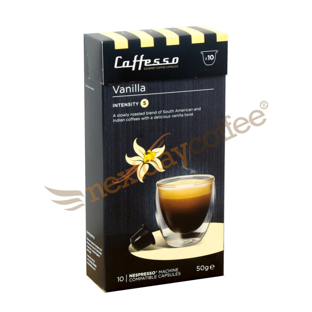Caffesso Vanilla Nespresso Capsules (10)