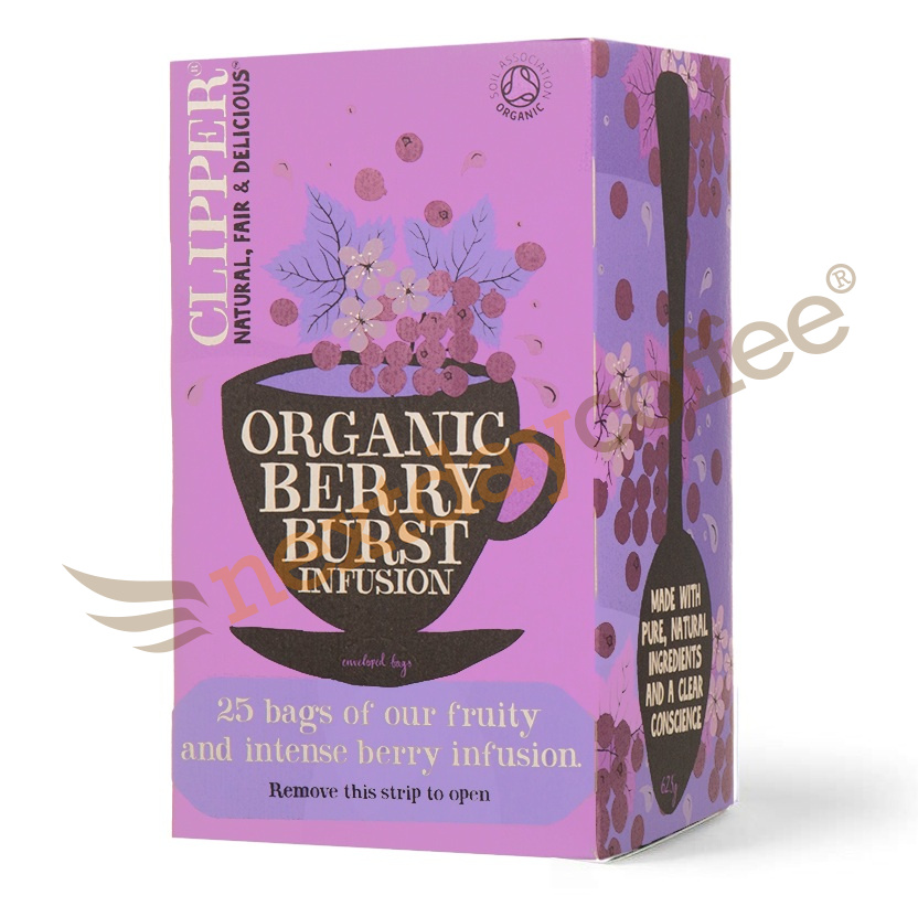 Clipper Tea - Organic Berry Burst Envelope Tea (25)