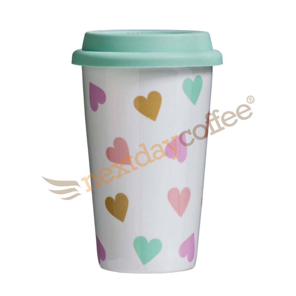 Travel Mug - Confetti Design (330ml)
