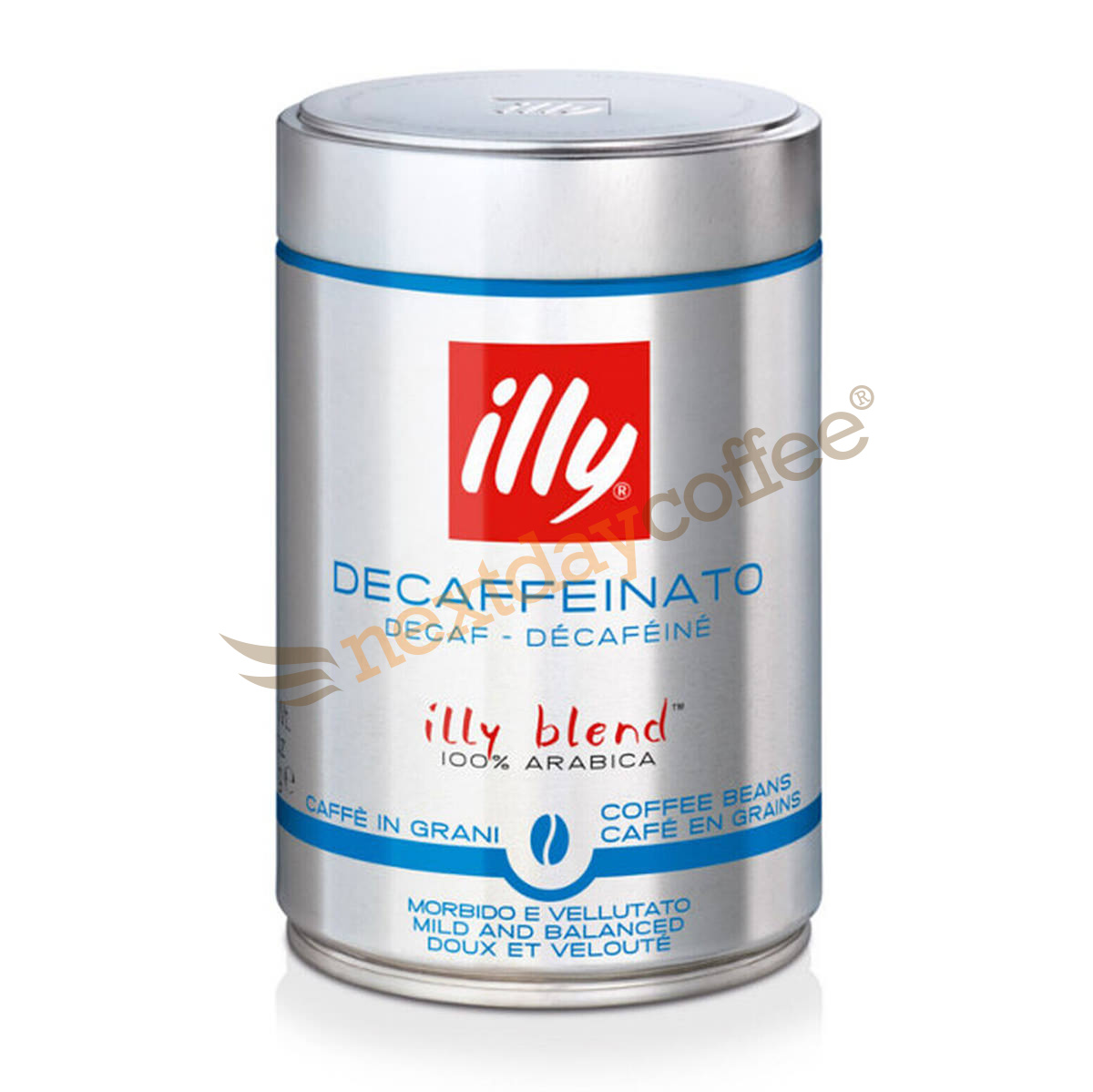 Illy Italian Coffee Beans Decaffeinated (250g)
