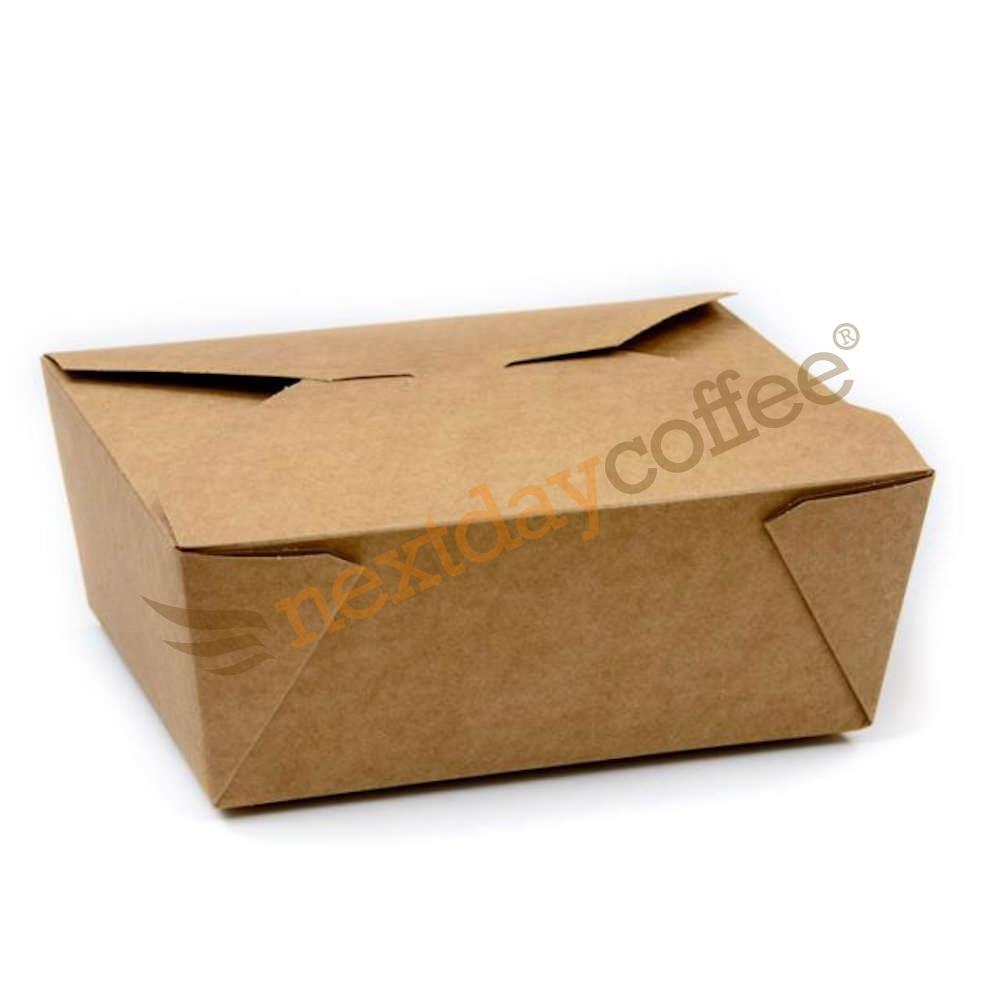 Compostable Kraft Food Box - Large (150)