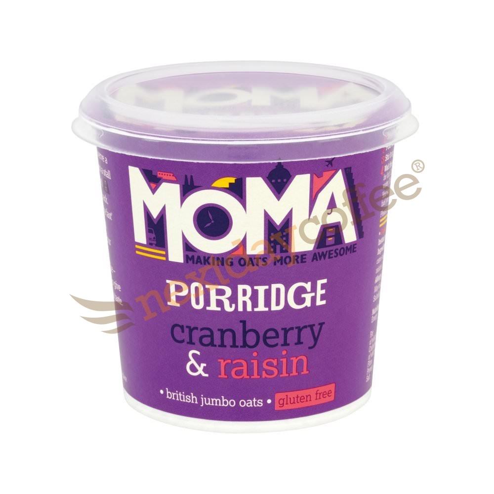 Moma Porridge Oats - Cranberry and Raisin (12)
