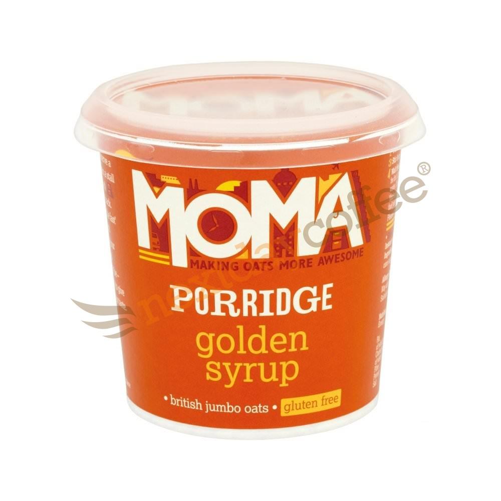Moma Porridge Oats - Golden Syrup (12)
