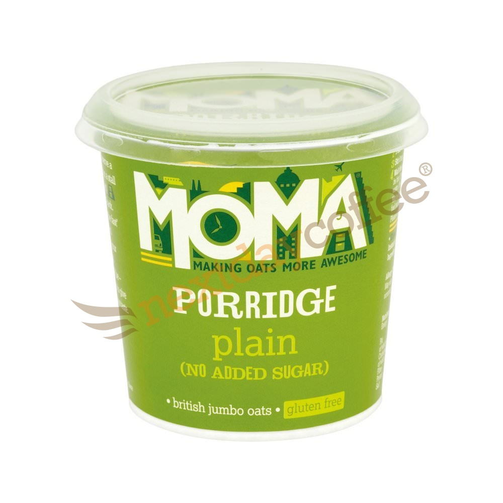 Moma Porridge Oats - Plain No Added Sugar (12)