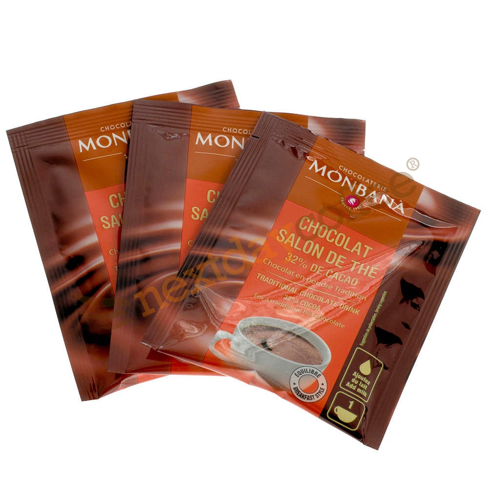 Monbana Salon de The Hot Chocolate (100 x 20g)