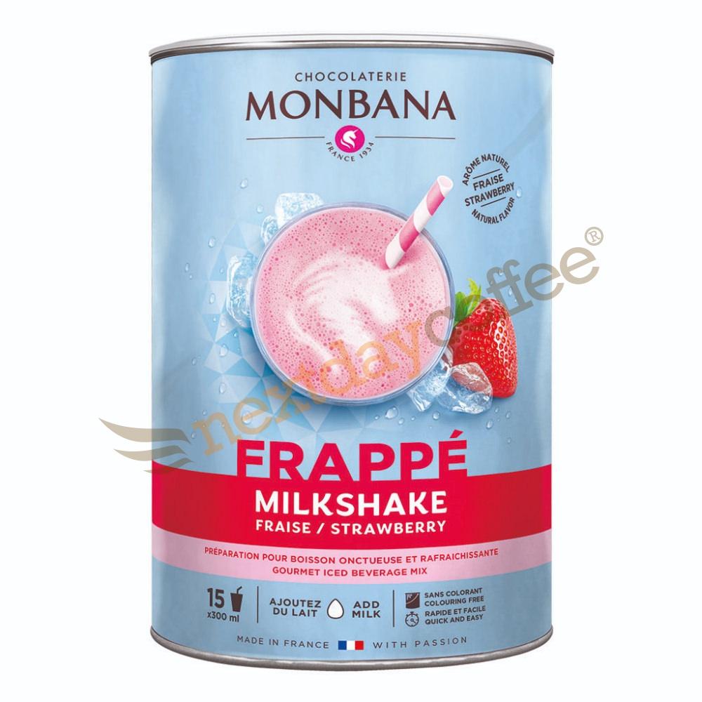 Monbana Strawberry Frappe Milkshake (1kg)