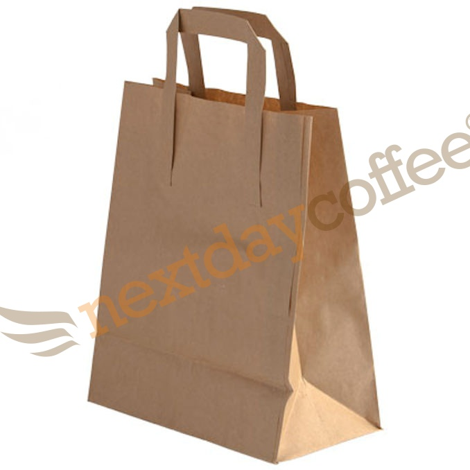 Paper Takeaway Carry Bags - Large (250 bags)