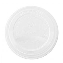 6/8oz Vegware White Compostable Sip Lids (1000)