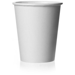10oz Single Wall White Paper Cups (1000)