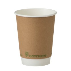 12oz Double Wall Compostable Paper Cup (100)