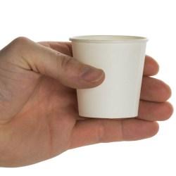 4oz Premium White Paper Cups (1000)