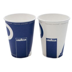 8oz Single Wall Cups - Lavazza Branded (1000)