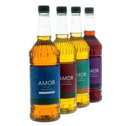 Amor Vanilla Sugar Free Syrup (1 Litre)