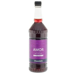 Amor Chocolate Sugar Free Syrup (1 Litre)