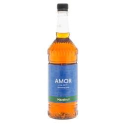 Amor Hazelnut Syrup (1 Litre)