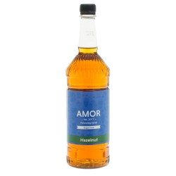 Amor Hazelnut Sugar Free Syrup (1 Litre)