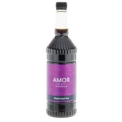 Amor Peach Iced Tea Syrup (1 Litre)