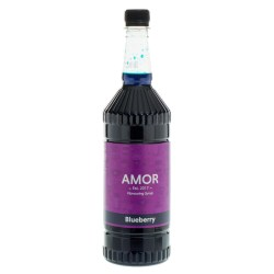 Amor Blueberry Syrup (1 Litre)