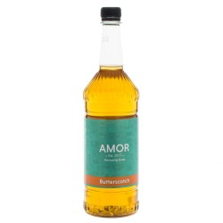 Amor Butterscotch Syrup (1 Litre)