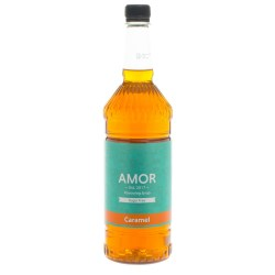 Amor Caramel Sugar Free Syrup (1 Litre)