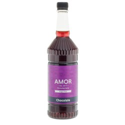 Amor Chocolate Sugar Free Syrup (1 Litre)