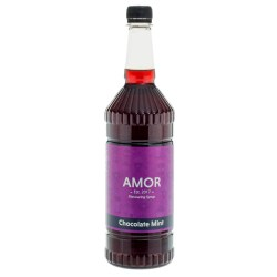 Amor Chocolate Mint Syrup (1 Litre)