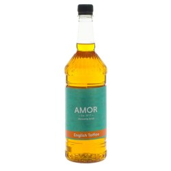 Amor English Toffee Syrup (1 Litre)