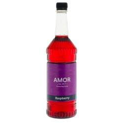 Amor Raspberry Syrup (1 Litre)