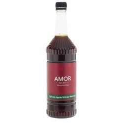 Amor Spiced Apple Syrup (1 Litre)
