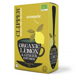Clipper Organic Lemon And Ginger Envelope Tea (25)