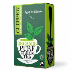 Clipper Tea - Organic Green Tea Envelope Tea (25)