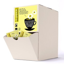 Clipper Fairtrade Organic Envelope Chamomile Tea (250)