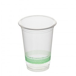 12oz Compostable Smoothie Cups (100)
