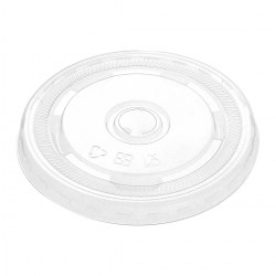 12-16oz Compostable Flat Smoothie Lids (1000)