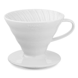 Hario V60 01 Dripper - Ceramic White